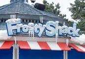 Frosty Shack at SplashDown Beach